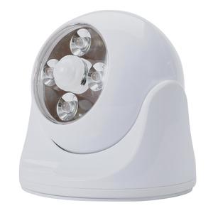 Battery-Powered Motion-Activated Anywhere Light (White)