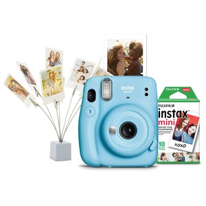 instax(R) mini Camera Bundle (Sky Blue)