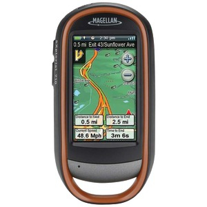 eXplorist 710 Handheld GPS Receiver with Outdoor Recreation Maps & Driving Directions to navigate from doorstep to summit