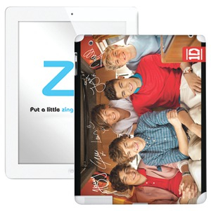 iPad(R) with Retina(R) display-iPad(R) 3rd Gen-iPad(R) 2 One Direction 1D Boys Skin