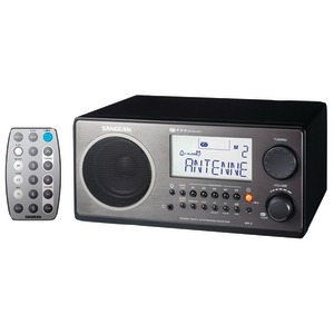 Digital AM-FM Stereo System with LCD & Alarm Clock (Black)