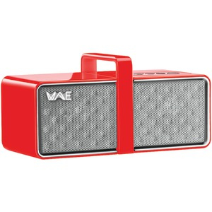 MINI Portable Bluetooth(R) Speaker (Red-White)