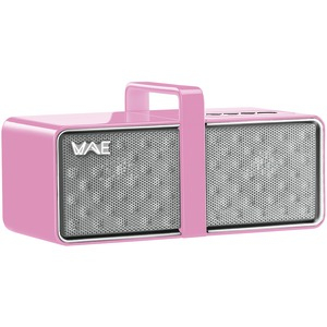 MINI Portable Bluetooth(R) Speaker (Pink-White)