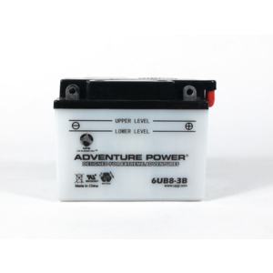 6UB8-3B Conventional Power Sports Battery