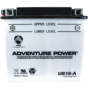 UB18-A Conventional Power Sports Battery
