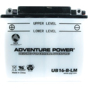 UB16-B-LM Conventional Power Sports Battery