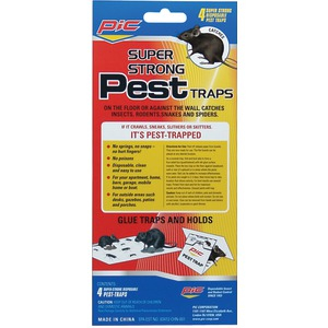 PIC Glue Pest Trap for Spiders & Snakes 4 pk GPT-4