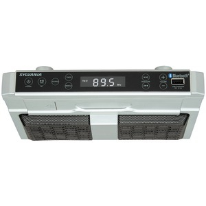 SYLVANIA Bluetooth(R) Undercounter Kitchen Radio SKCR2810BT