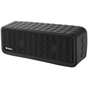 Bluetooth(R) Mini Speaker with Silicon Protective Cover (Black)