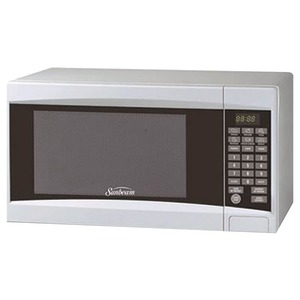 SUNBEAM .7 Cubic-ft Digital Microwave (White) SGD-2701