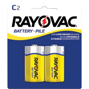 Heavy-Duty Zinc Carbon Batteries (C; 2 pk)