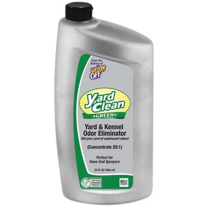 URINE OFF Yard Clean Green(TM) Yard & Kenner Odor Eliminator 20:1 Concentrate, 32oz BU1027