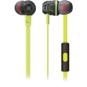 PHIATON BY CRESYN Extreme Bass Boosting In-Ear Headphones with Microphone (Green) C450S GREEN