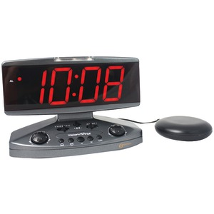 SONIC ALERT Wake-up Call Alarm Clock with Super Shaker(TM) AMPLICALL500