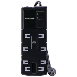 CYBERPOWER CSB806 Essential Surge Protector CSB806