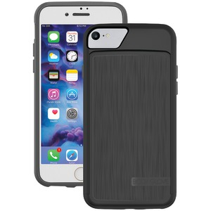 BODY GLOVE iPhone(R) 7 SATIN Wallet Case (Black/Charcoal) 9577101