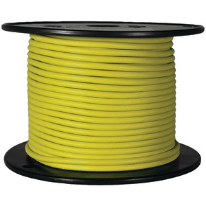 BATTERY DOCTOR GXL Crosslink Wire, 100ft Spool (16 Gauge, Yellow) 81038