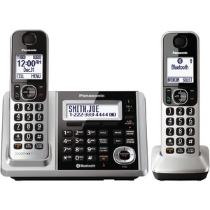 DECT 6.0 1.9 GHz Expandable Didgital Cordless Link2Cell with PSTN & TAD (2 Handsets)