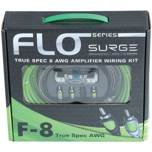 Flo Series Amp Installation Kit (8 Gauge, 800 Watts)