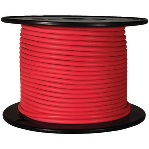 BATTERY DOCTOR GXL Crosslink Wire, 100ft Spool (16 Gauge, Red) 81036