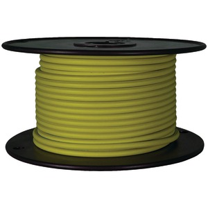 BATTERY DOCTOR GXL Crosslink Wire, 100ft Spool (18 Gauge, Yellow) 81045