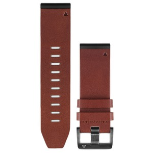 GARMIN fenix(R) 5S 26mm QuickFit(TM) Leather Watch Band 010-12517-04