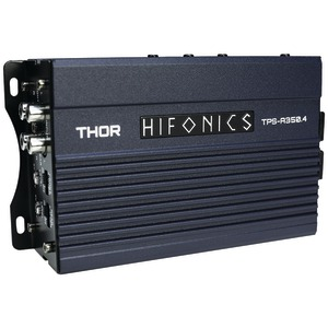 HIFONICS THOR Series 350-Watt 4-Channel Class D Amp TPS-A350.4
