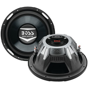 BOSS AUDIO Armor Series Dual Voice Coil Subwoofer (12 inch., 2,400 Watts) AR12D