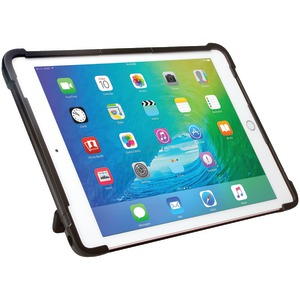 CTA DIGITAL iPad Air(R)/iPad Pro(TM) 9.7 inch. Security Carrying Case with Kickstand & Galvanized Steel Antitheft Cable PAD-SCCK9