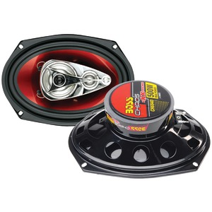 BOSS AUDIO Chaos Exxtreme Series Full-Range Speakers (6 inch. x 9 inch., 500 Watts, 4 Way) CH6940