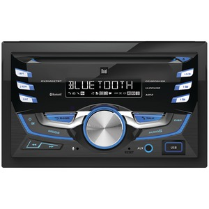 DUAL Double-DIN In-Dash CD AM/FM Receiver with Bluetooth(R) DXDM227BT