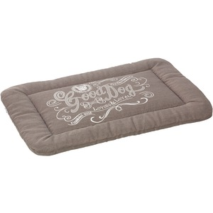 HOUSE OF PAWS Good Dog Linen Crate Mat (M; Gray) HP794GM