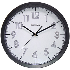 WESTCLOX 14 inch. Round Office Wall Clock 32067