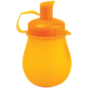 MASTRAD BABY 4-Ounce SQUEEZY POD(TM) (Orange) A52709
