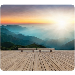FELLOWES Recycled Mouse Pad (Mountain Sunrise) 5916201