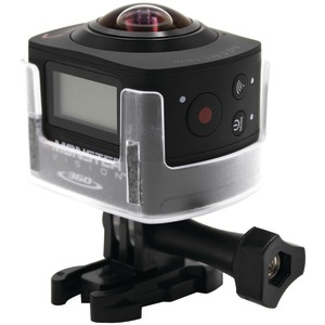 MONSTER DIGITAL Vision 360 Virtual Reality Action Camera Set CAMVI-0360-A