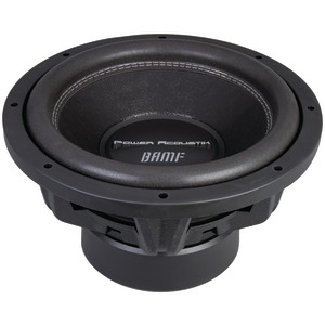 POWER ACOUSTIK BAMF Series Subwoofer (10 inch., 3,200 Watts max, Dual 4ohm ) BAMF-104