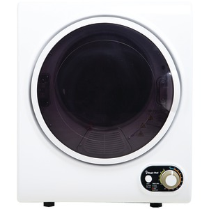 MAGIC CHEF Compact 1.5 Cubic-ft Electric Dryer MCSDRY15W
