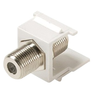 STEREN Keystone Snap-in F-Jack Adapter 310-415WH