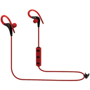 ILIVE Bluetooth(R) Earbuds with Microphone (Red) IAEB06R