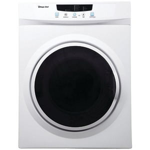 MAGIC CHEF 3.5 Cubic-ft Electric Dryer MCSDRY35W