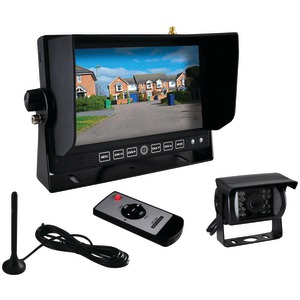 PYLE Commercial-Grade Wireless Weatherproof Backup Camera & Monitor Video System PLCMTR82WIR