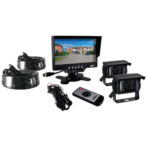 PYLE Commercial-Grade Weatherproof Backup Cameras & Monitor Video System PLCMTR72