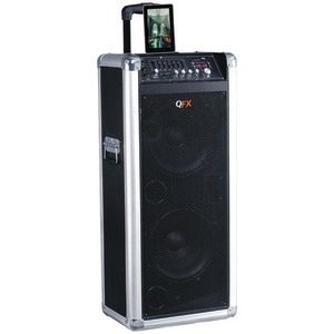 QFX Ultimate Rechargeable Bluetooth(R) Party PA Speaker PBX-3110BT