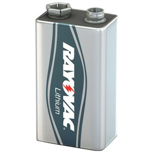 RAYOVAC 9-Volt Lithium Carded Battery R9VL-1