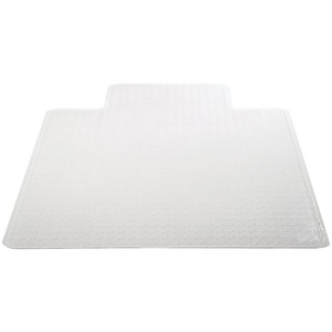 DEFLECTO Chairmat with Lip (45 inch. x 53 inch. Medium Pile) CM14233COM
