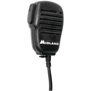 MIDLAND Handheld-Wearable Speaker Microphone with Push-to-Talk for GMRS Radios AVPH10