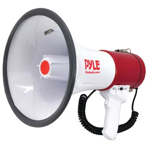 PYLE PRO Bluetooth(R) Megaphone Bullhorn with Siren PMP52BT