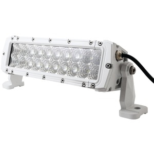 MARINE SPORT HD LED White Marine Light Bar (10 inch. 60 Watts 4200 Lumens) MS-MRDR10