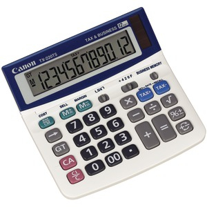 CANON TX-220TSII Portable Display Calculator 0633C001